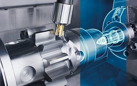 Counter spindle tip